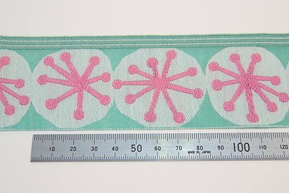 ミニ帯チロル/ほうしリボン/53mm/ピンク